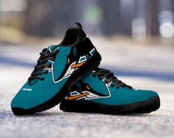 San Jose Sharks Custom Running Black Shoes/Sneakers/Trainers - Ladies + Mens Sizes