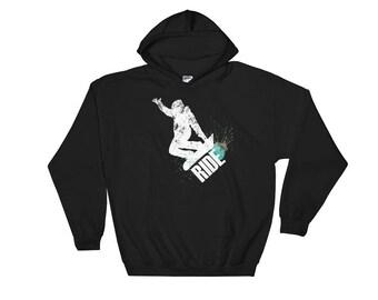 RIDE Snowboarding Hooded Sweatshirt
