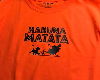 Disney Hakuna Maratha T-shirt Family Set of Shirts