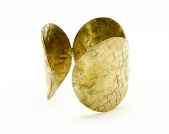 Solid brass Cuff Bracelet