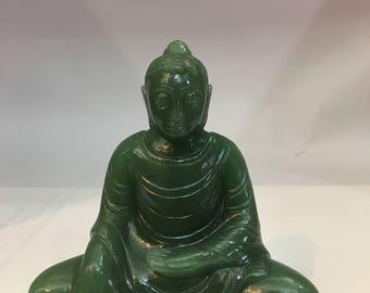 Green Aventurine (jade) Buddha