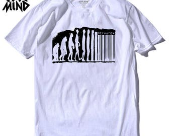 Human Evolution T shirt for him