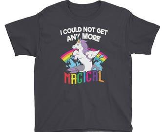 KIDS Mermaid Unicorn Shirt Magical Mermicorn T-Shirt Unicorn Gift for girls and boys