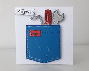 Greeting Card Father's Day or birthday