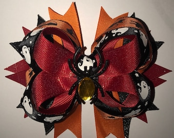 Halloween Boutique Bow