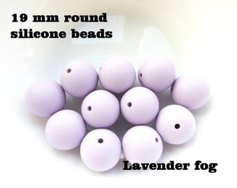 19 mm round silicone beads for teething necklace / Teething necklace beads / Bite beads round 19 mm / Chewable beads / Chew beads / Chewelry