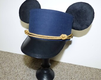 Custom Mickey or Minnie Mouse Ears Conductor Hat