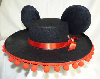 Custom Mickey Ears Sombrero