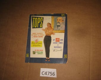 Tops Magazine back issue dated Sept 1955   [c4756o]