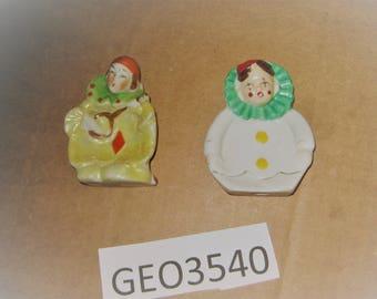 Ceramic Spoon Rests made in Japan    [geo3540bt]