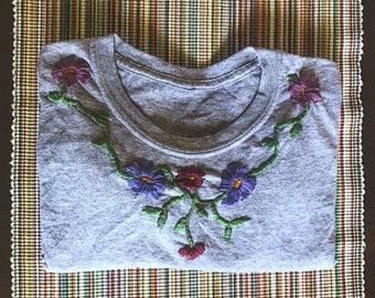 V Floral Shirt