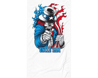 Uncle Sam Towel