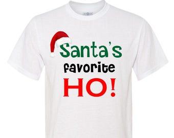 Santa's Favorite HO! T-shirt / MUG