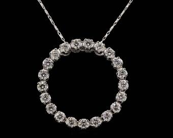 Diamond Chain and Pendant