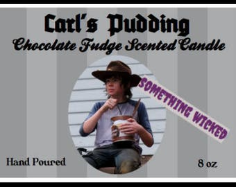 Walking Dead Carl Grimes Inspired Candle