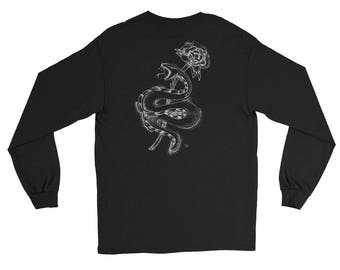D.E.D Snake Long Sleeve T-Shirt