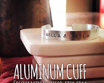 Personalized Aluminum Cuff