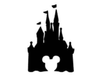 Disney Inspired Castle Decal