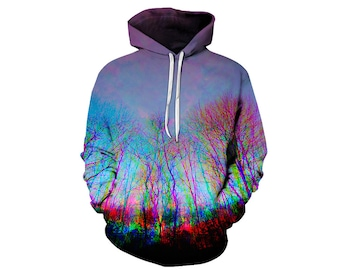 Tree Hoodie, Outdoor Hoodie, Tree Sweatshirt, Nature Hoodie, Art, Hoodie Art, Hoodie Pattern, Pattern Hoodie, Hoodie, 3d Hoodie - Style 8