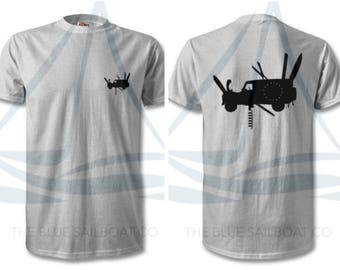 Land Rover Leatherman Logo T Shirt, Classic, Novelty T-Shirt, Cars, Novelty Gift, Defender T-Shirt, Land Rover T-Shirt Adults