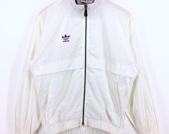 Vintage Adidas Jacket/Windbreaker  Medium Size Retro Rap Tees Hip Hop Streetwear Fashion Swag