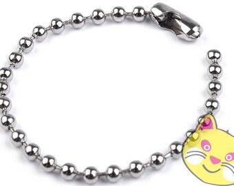 10 PCs ball chain ball chain 10 cm (0,19EUR/PCS)