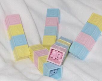 Pastel Baby Block Rattle~!