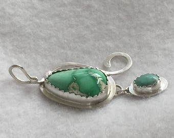 Variscite and turquoise
