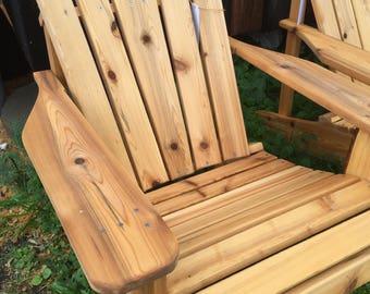 White Cedar Adirondack Chair