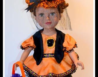 "HALLOWEEN COSTUME 18"" doll"