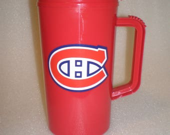 Large NHL Montreal Canadians Travel Mug