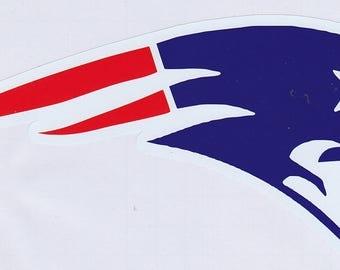 NFL - New England Patriots permanent vinyl decal