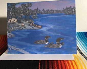 Card - Loon Lake
