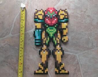 Super Metroid Super Samus Perler