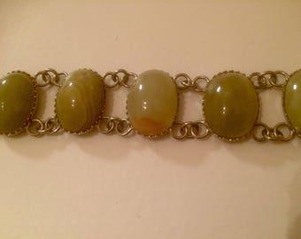 1960's Onyx Bracelet