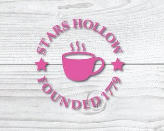 Stars Hollow Coffe Cup Logo