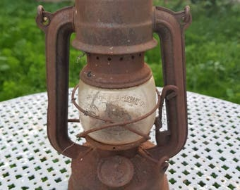 ANTIQUE OIL HEADLIGHT