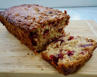 CRANBERRY APPLE BREAD dairy-free