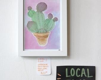 Cactus Cutie Print