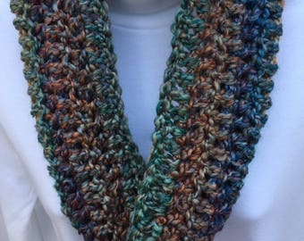 Gorgeous Multicolored Cowl Infinity Scarf *MADE TO ORDER