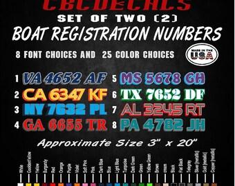 Boat Stickers Etsy - Custom vinyl stickers australia the advantages