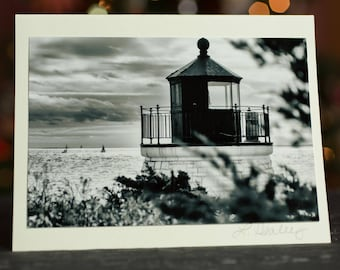 Castle Hill Lighthouse Photo Greeting Card