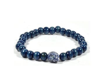 Splash Dark Blue Bracelet