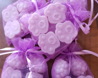 Hand Made Soy Wax Melt Parmaviolet Retro Sweet Fragrance
