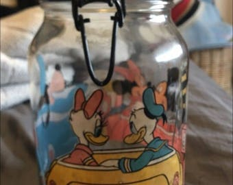 Disney Glass Canister