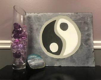ying yang painting