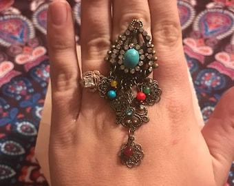 Boho Dangle Ring