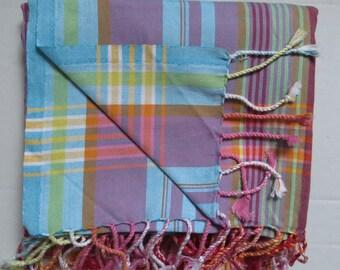 Original Kikoy sarong  wraps from Kenya -100% cotton.