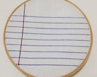 Notebook Embroidery
