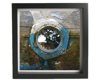 """Picture framed 20 X 20 cm """"by the window"""""""